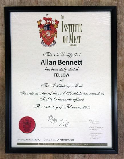 the institute of meat award